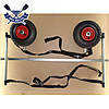 Тележка для лодок до 170 кг Univ-Poly тележка колеса для лодки надувной проколобезопасные, клиренс 30 см, фото 6