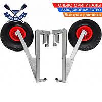 Установка без сверла транцевые колеса автоматические КТ270 до 170 кг трансформеры пневматика склад-ся с лодкой