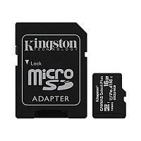Флеш память MicroSDHC 16Gb Kingston Canvas Select Plus (Class 10) + SD-адаптер (SDCS2/16GBSP)