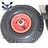 Транцевые колеса трансформеры КТ-400 до 200 кг НЕРЖАВЕЙКА пневматика быстрая фиксация самоудерж-й штифт, фото 4