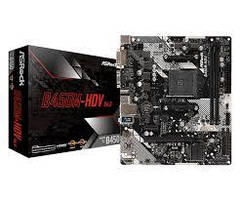 Материнская плата ASRock B450M-HDV R4.0 (mATX 2xDDR4 3200 HDMI 1xM.2)
