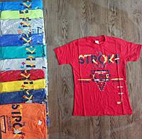"""Подростковая футболка для девочки """"Stroke"""" размер 9-12 лет, цвет уточняйте при заказе"""