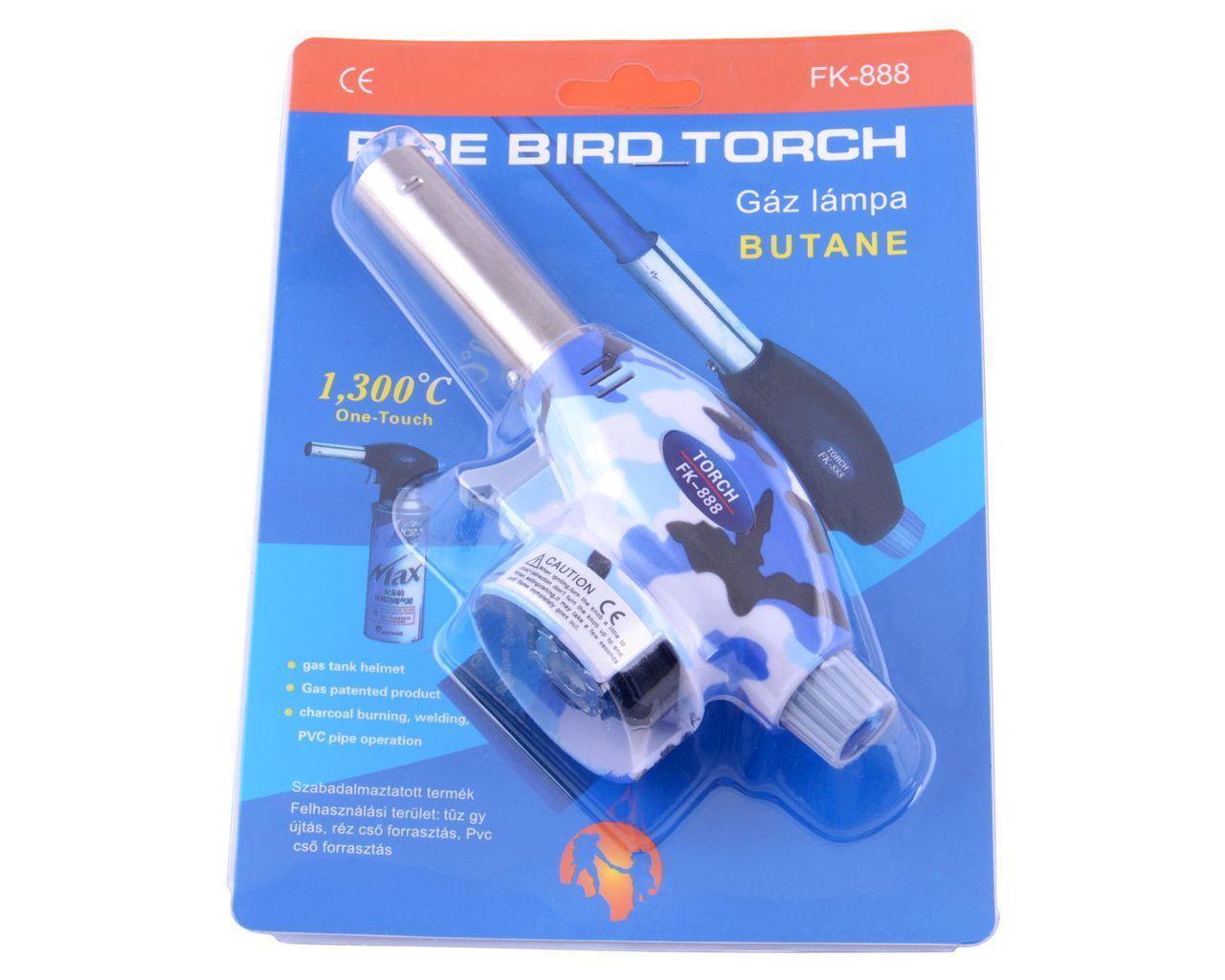 Портативная газовая горелка Fire Bird Torch Хаки FK-888