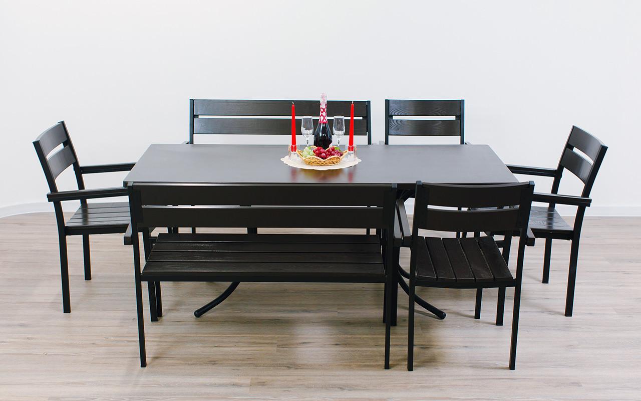 """Комплект мебели для кафе Микс-Лайн """"Стелла"""" Венге"""