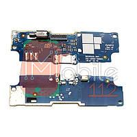 Шлейф  Asus ZenFone Go ZB551KL ZB552KL с разъемом зарядки, виброзвонком и микрофоном - нижняя плата