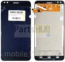 Экран (дисплей) Prestigio MultiPhone PSP3504 Muze C3 + тачскрин черный