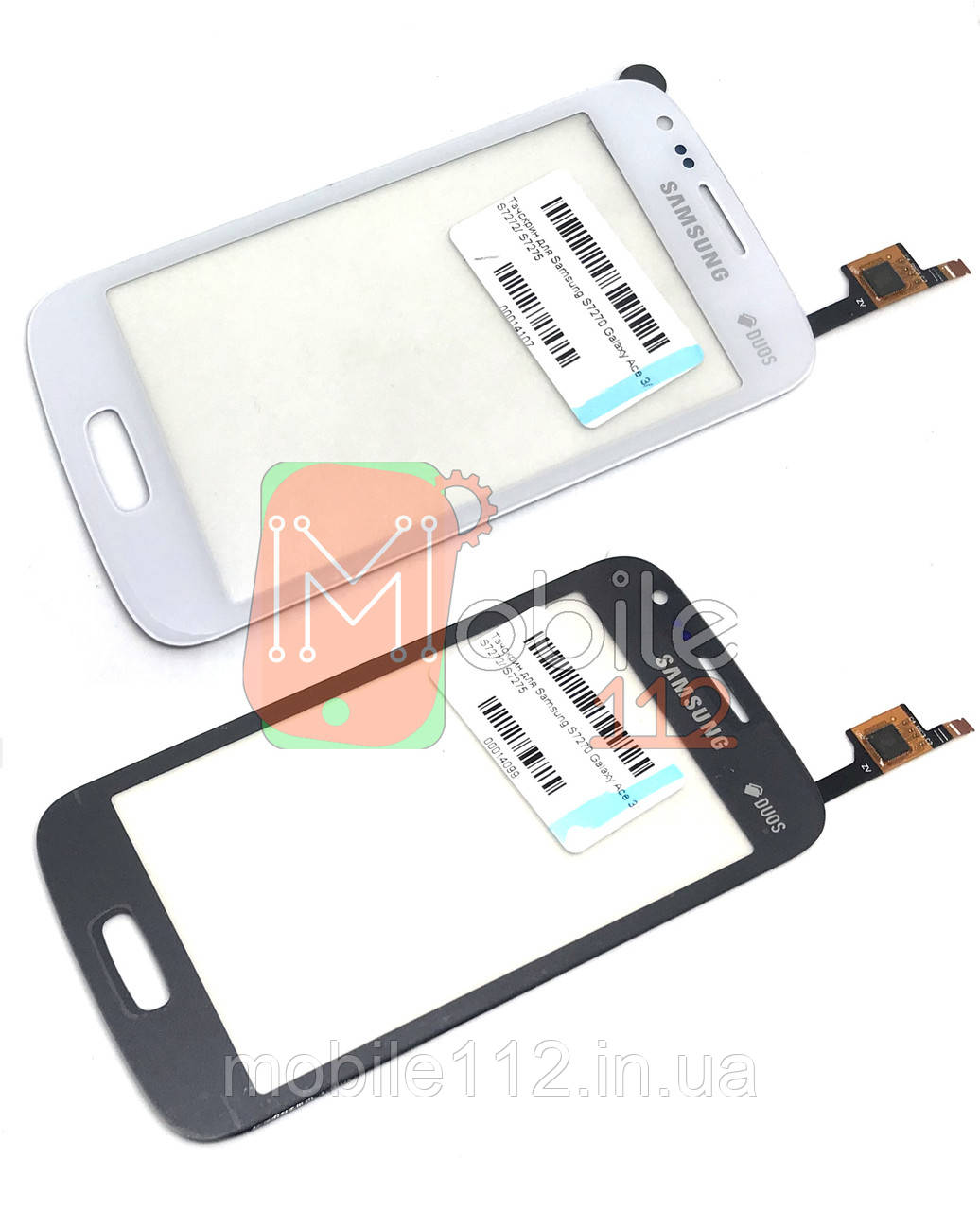 Сенсор (тачскрин)  Samsung S7270 Galaxy Ace 3 S7272 S7275 белый