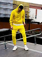 Спортивный костюм мужской Jog x yellow весенний / осенний ЛЮКС