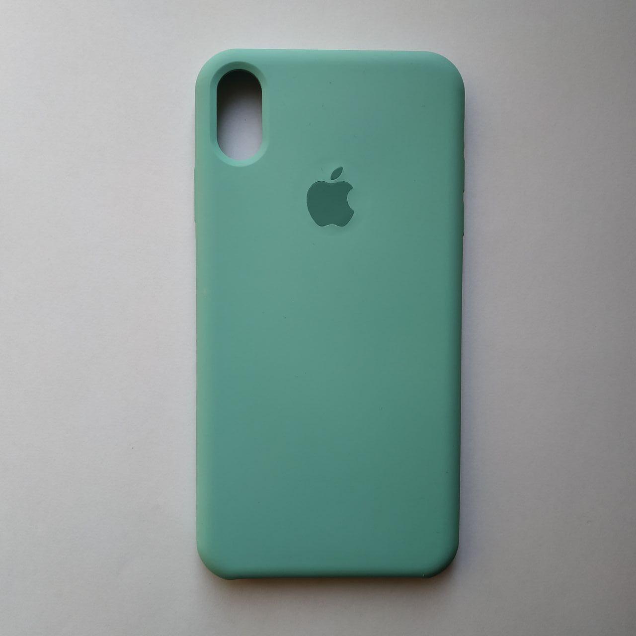 Чехол Silicone Case для Apple iPhone XS Max Ice Blue
