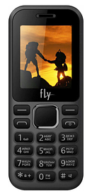 Мобильный телефон Fly FF183 Black Гарантия 12 месяцев