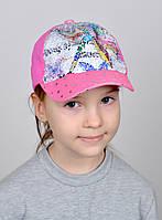 №216 Стрекоза Пайетки  р.50-52 (3-5 лет) бейсболка детская