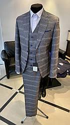 Мужской костюм тройка West-fashion модель А-333