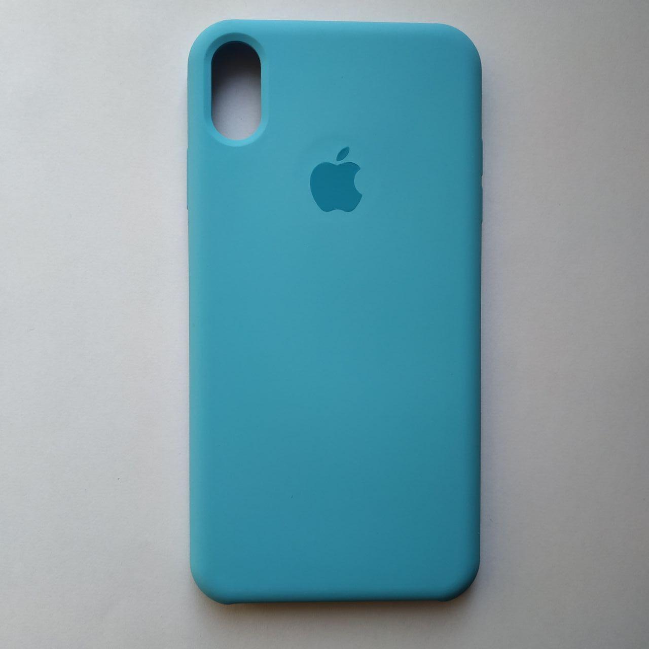 Чехол Silicone Case для Apple iPhone XS Max Sky Blue