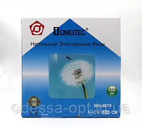 Напольные весы Domotec ACS MS 2019 до 180 кг