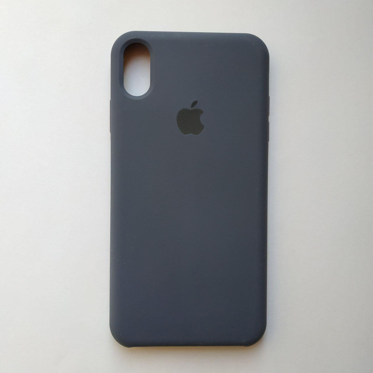 Накладка Silicone Case ARM для Apple iPhone XS Max Midnight blue