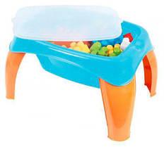 Столик с набором конструктора 42 дет 41490 Wader (TC113054)