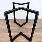 Металлические черные ножки для столика N45 ножки для стола, фото 3