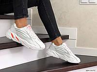 Женские кроссовки белые Adidas Yeezy Boost 700 8695