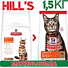 Корм Хіллс Адалт Лемб Hills Adult Care Lamb для дорослих котів з ягнем 1,5 кг