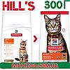 Корм Хіллс Адалт Лемб Hills Adult Care Lamb для дорослих котів з ягнем 300 г