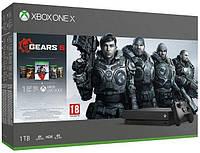 Игровая приставка Microsoft Xbox One X 1TB + Gears 5 + колекция Gears of War консоль