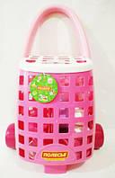 Цікавий Візок + набір дитячого посуду (31 елемент) 54968 MIC (TC129550)