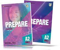 Prepare 2, Student's + Workbook / Учебник + Тетрадь (комплект) английского языка