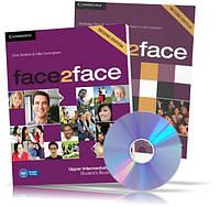 Face2face Upper-Intermediate, Student's + DVD + Workbook / Учебник + Тетрадь (комплект) английского языка
