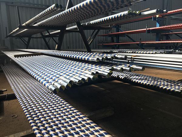 Каленные штоки 42CrMo4V диаметром 60 мм