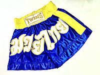 Шорты для тайского бокса атласные р-р М, фото 1