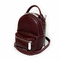 Сумка-рюкзак на поясная, через плечо кожаная марсала флотар 1600, фото 1
