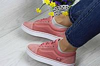 Кроссовки женские Vans Old Skool  розовые 4314