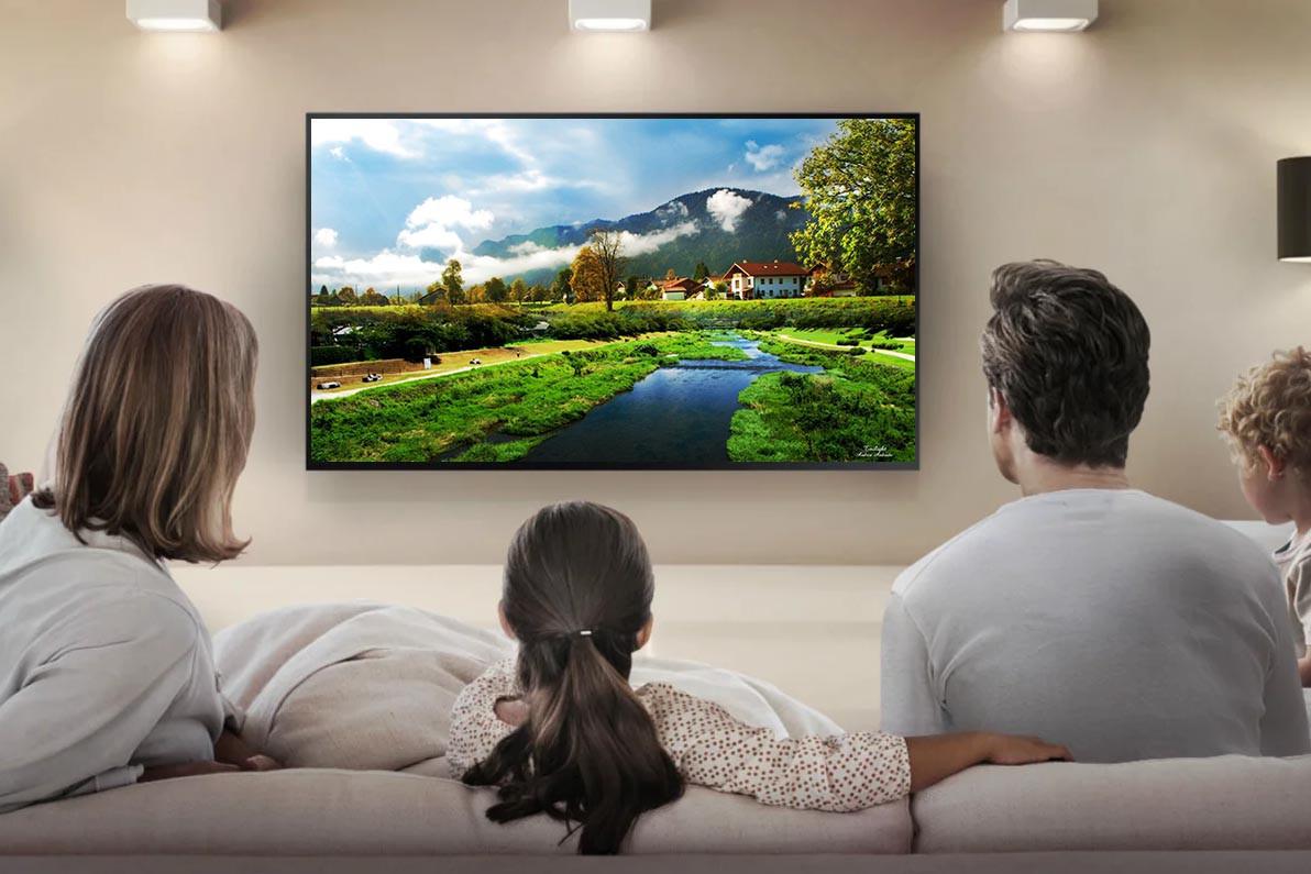 "Телевізор з якісним екраном LED-TV 50"" Smart-Tv Android 7.0 FullHD/DVB-T2/USB (1920×1080)"