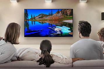 """Телевизор на стену LED-TV 58""""Smart-Tv Android 7.0 UHD-4k /DVB-T2/USB"""