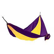 "Гамак KingСamp ""PARACHUTE HAMMOCK"" (KG3753) Purple/Yellow"