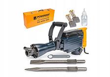 Відбійний молоток Powermat PM-MWB-3000: 2900 Вт / Кейс + Зубило, долото