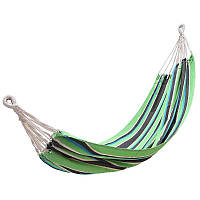 Гамак одноместный Kingcamp Canvas Hammock (KG3752/66) Green/Black