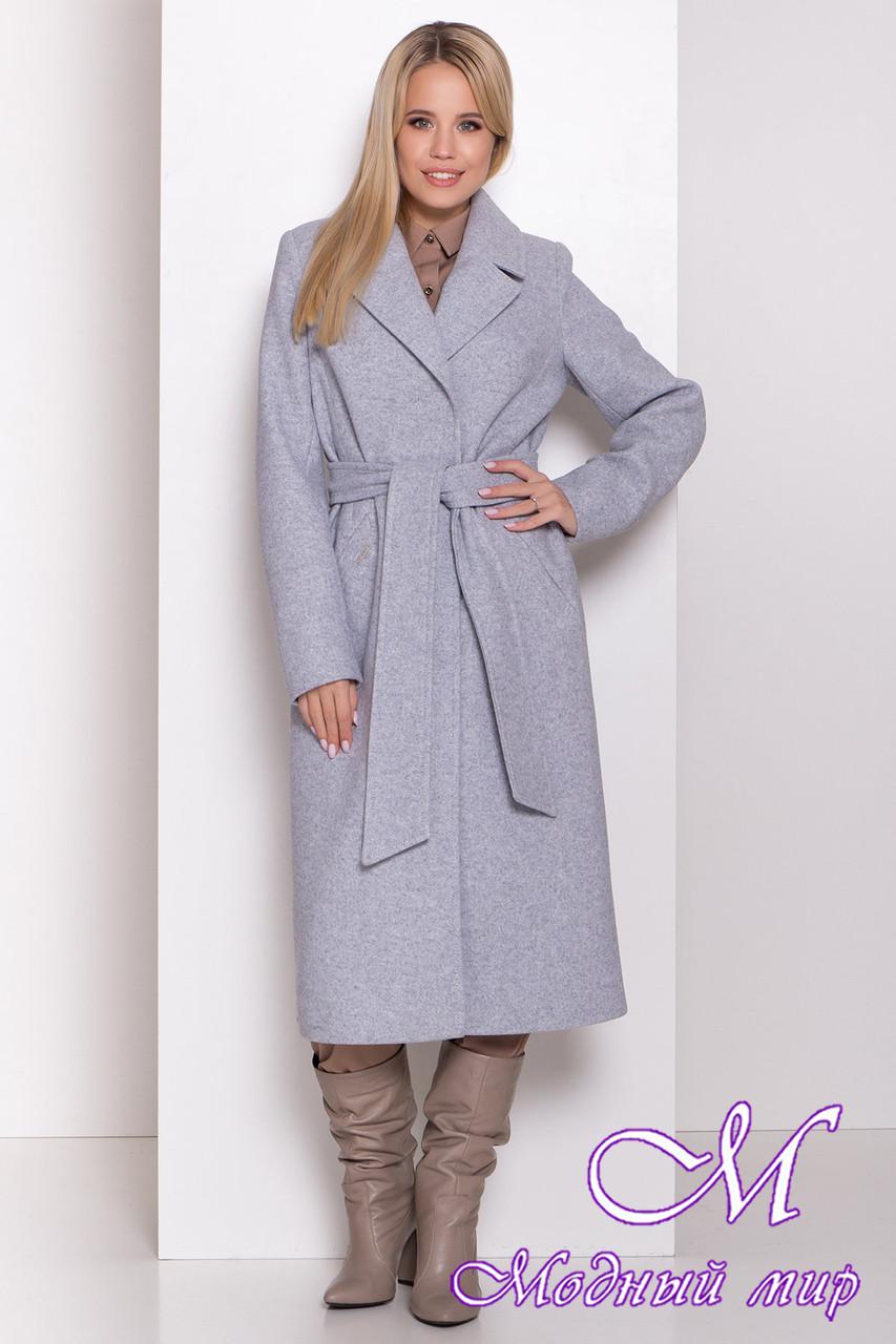 Женское весеннее пальто ниже колена (р. S, M, L) арт. М-81-07/44053