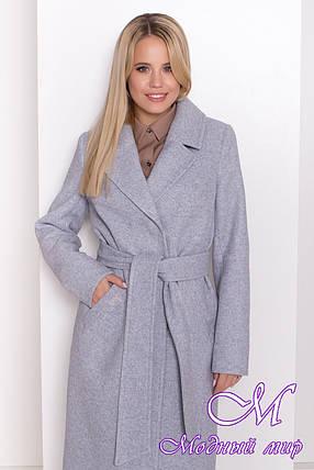 Женское весеннее пальто ниже колена (р. S, M, L) арт. М-81-07/44053, фото 2