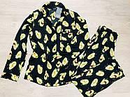 Пижама женская с авокадо пиджак, штаны Orli, фото 3