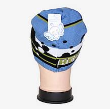 Детская шапка на мальчика (Арт. WD1414), фото 3