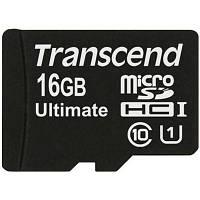 Карта памяти Transcend 16Gb microSDHC Class 10 UHS-I Ultimate 600x (TS16GUSDHC10U1)