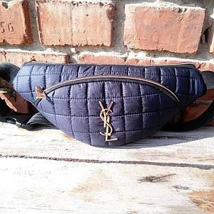 Бананка женская, два отдела сумка на пояс/через плечо, фото 2