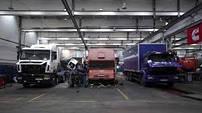 Ремонт и обслуживание грузовых автомобилей и автобусов