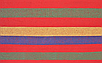 Садовий гамак 200х80, Бавовняний гамак, Гамак туристичний, Гамак тканинний з дерев'яними перекладинами, фото 6