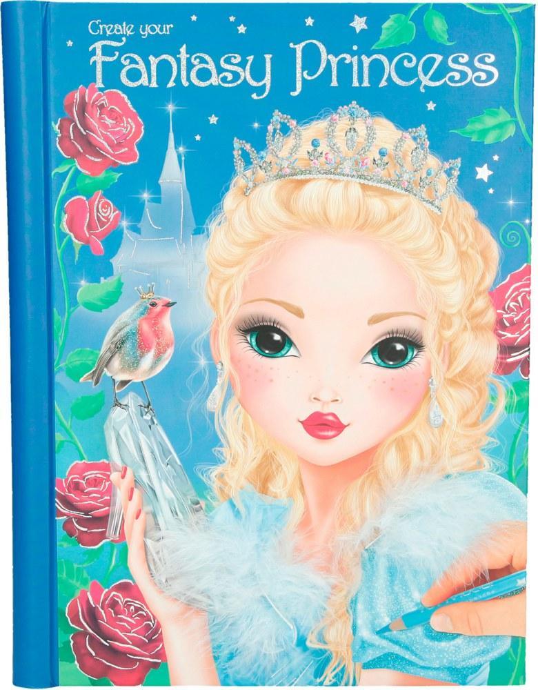 TOP Model Create your Fantasy Princess набір для творчості  ( Альбом для творчества Топ Модель раскраска )