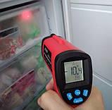 Пірометр UT380 ( -50~380℃) DS:12:1; EMS:0,1-1,0, фото 6