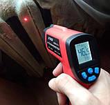 Пірометр UT380 ( -50~380℃) DS:12:1; EMS:0,1-1,0, фото 7