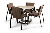 "Комплект мебели для кафе Микс-Лайн ""Парма Люкс"" Серый"