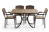 """Комплект мебели для кафе Микс-Лайн """"Фелиция"""" Венге"""